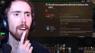 Asmongold Responds To Hate Thread On WoW Forums! thumbnail
