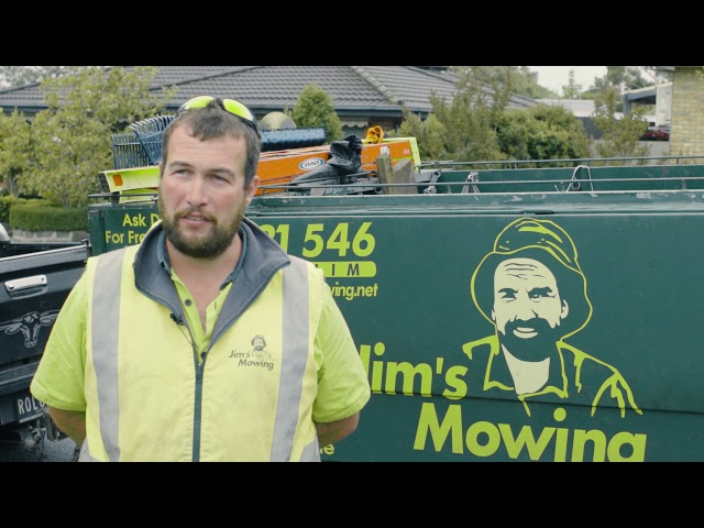 Meet Paul from Jim's Mowing who tells you about some of the benefits to owning a Jim's franchise.