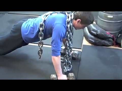 High School Wrestler Inspired by Convict Conditioning Workout - YouTube