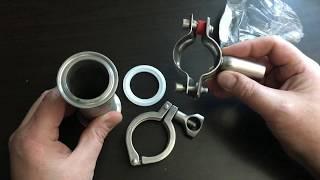 видео Хомуты для крепления труб