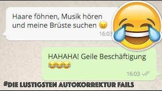 15 WhatsApp Autokorrektur Fails, die dich zum lachen bringen..