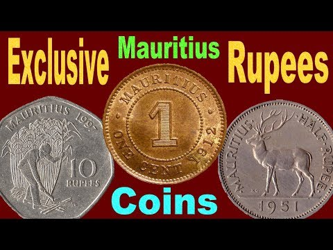 Must Watch : Rupees Coins & Bank Note of Mauritius The British Colony