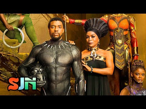 1st Full Look at Black Panther Royal Family