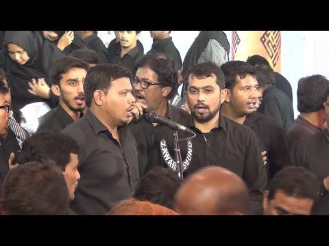 4th Muharram Anjuman-e-Hyderia Aghaz-e-Matam 1438-2016