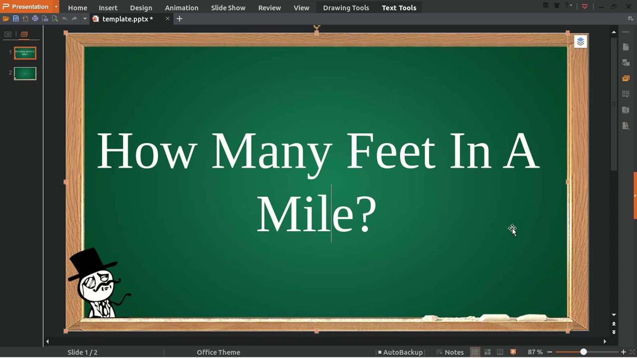 How Many Feet In A Mile - YouTube