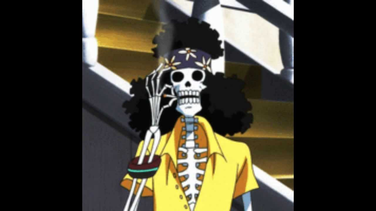 One Piece Brook English Voice Actor Announced - YouTube
