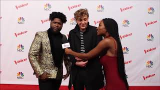 Team JHud: Noah Mac & Davon REVEAL Hidden Fun Facts About Themselves | Top 10 | The Voice 2017