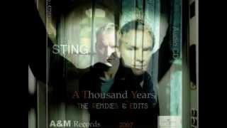 Sting - A Thousand Years ( Nitin Sawhney Mix )