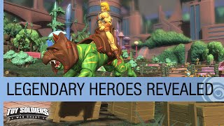Toy Soldiers: War Chest The Game of Toys: Legendary Heroes Revealed