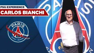 CARLOS BIANCHI A LA DECOUVERTE DE LA PSG EXPERIENCE