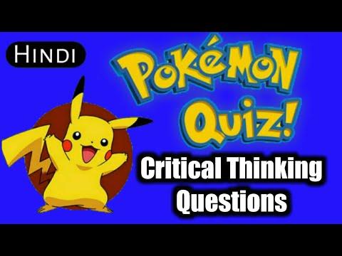 Pokemon Quiz Hindi By PokeMV Critical Thinking #4