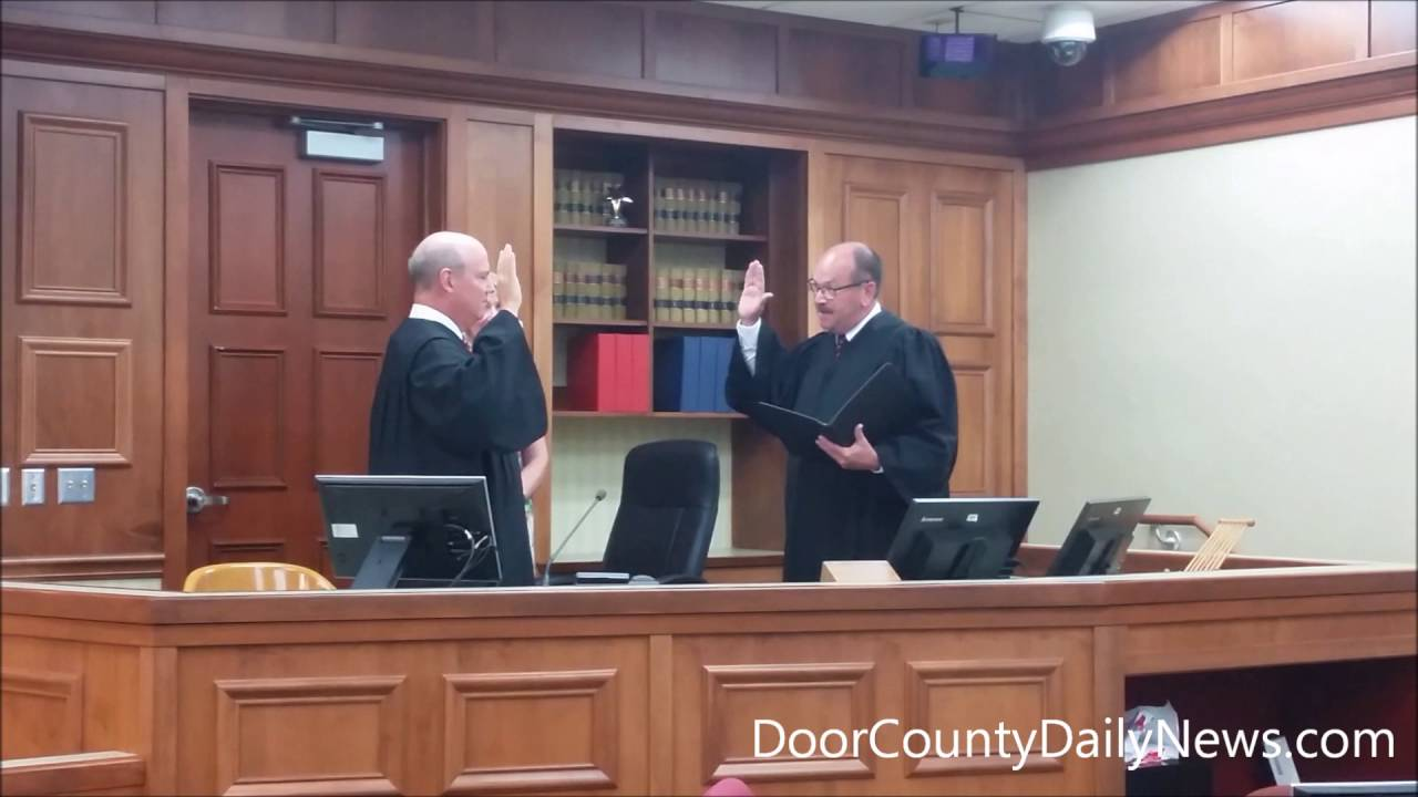 Superior Weber Sworn In As Door County Circuit Court Judge