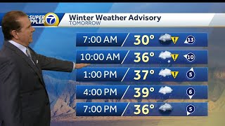 Winter weather advisories going up over much of New Mexico