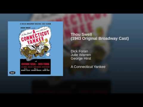Thou Swell (1943 Original Broadway Cast)