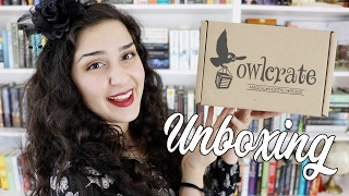 OwlCrate Unboxing | Run Away With The Circus 💫