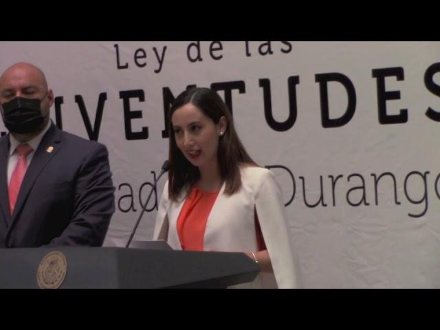 Jóvenes representan el 32 % de la población de Durango; Sofía Durán
