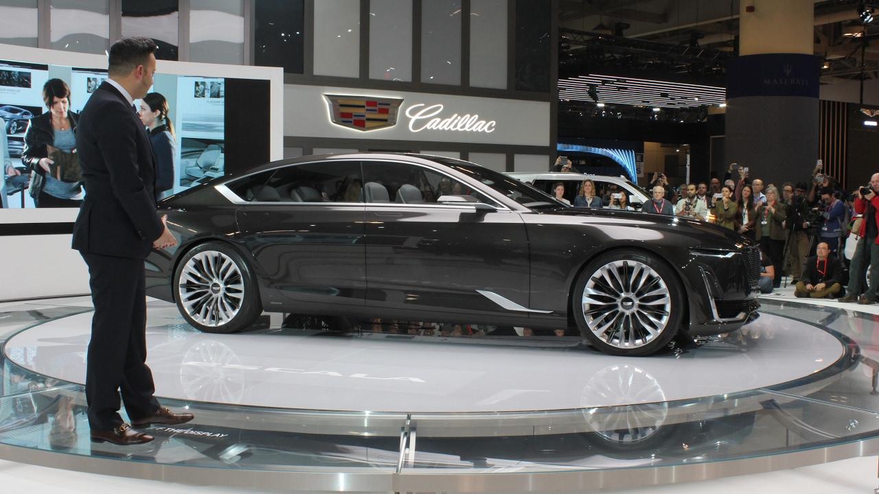 2018 Cadillac Escala Concept At Toronto