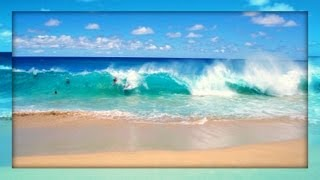 ☀ Sound Therapy ~ Ocean Waves on the Beach ~