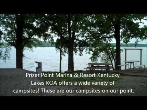Campsites At Prizer Point Marina & Resort Kentucky Lakes KOA