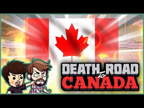 LAST STAND IN CANADA!!  Death Road to Canada Rare Characters! FINALE!