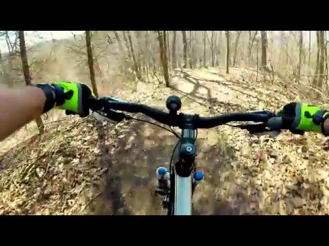 Serious Hills - Potawatomi Trail - Mountian Bike