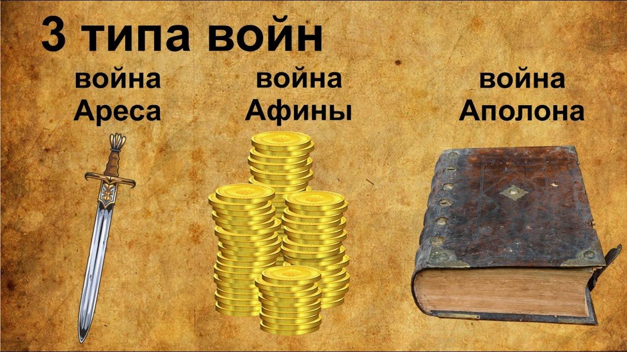 Андрей Школьников. 3 типа войн: война Ареса, война Афины, война Аполлона