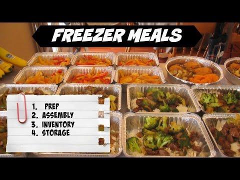 Freezer Meals - Start To Finish