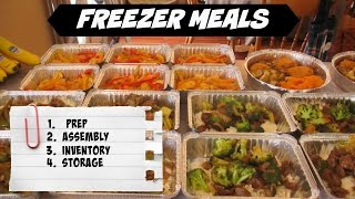 Freezer Meals - Start to Finish