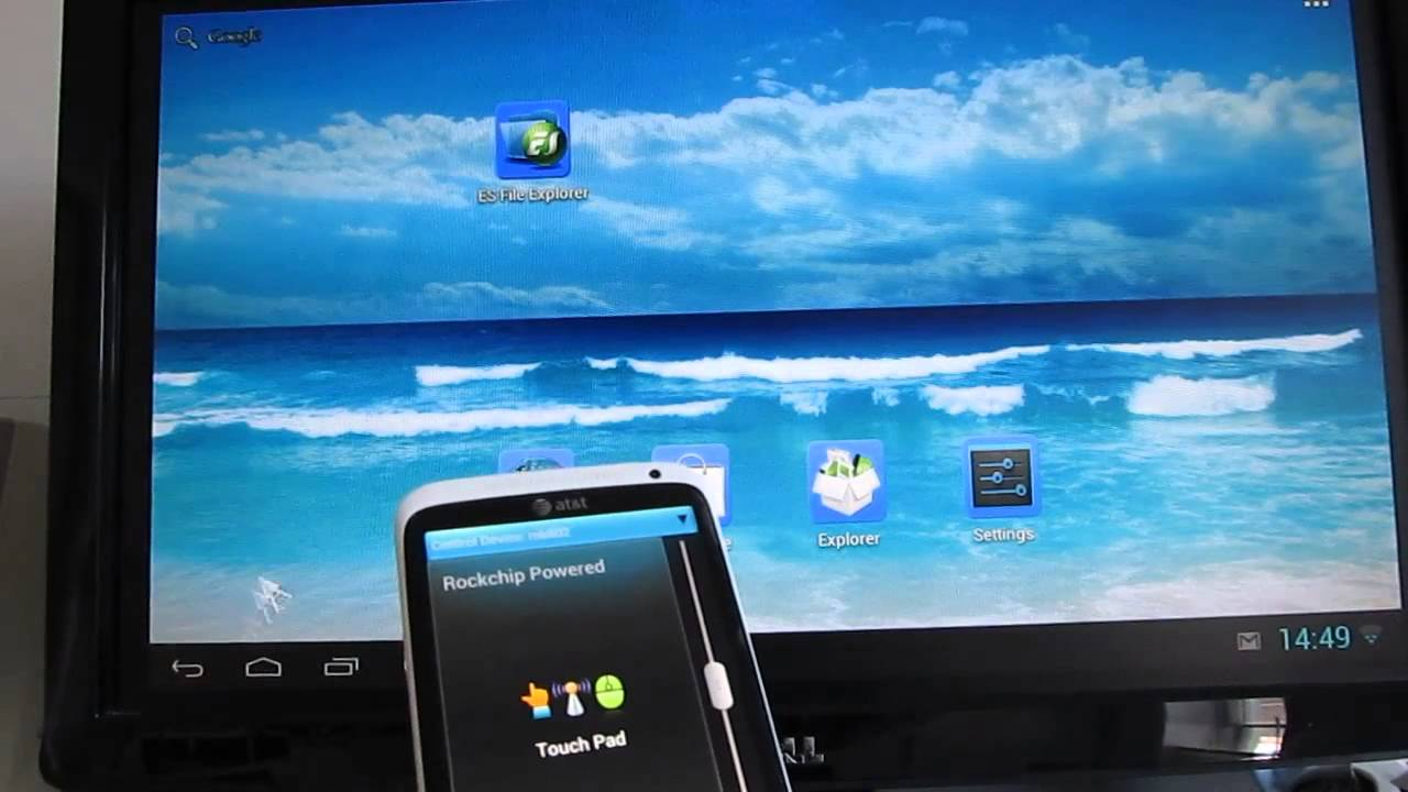 Mk802 Iii Android Mini Pc Using A Phone As Remote Control Youtube Telephone Network Interface Box Wiring