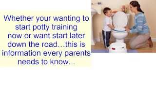 Potty Training Boys - How to Potty train a Boy Fast
