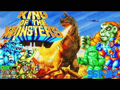 King of the Monsters | Neo-Geo | Gameplay |