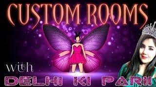 UNLIMITED CUSTOM ROOMS   PUBG MOBILE LIVE   with DELHI KI PARII   GIRL GAMER   PUBG LIVE