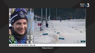 JO 2018 - Ski de fond Relais 4x10km hommes / Clément Parisse :