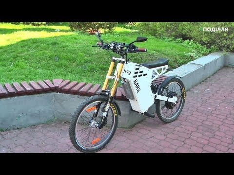 Поділля-центр: Студент із Хмельницького власноруч зібрав та спроектував велобайк