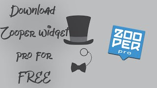 Download lagu How to download Zooper widget pro for free!