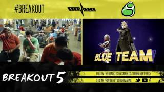 Breakout 5: GG Nom/ENG Miloni (Sheik/Cloud) vs Kasper/John Cena (Mac/Fox + Link)