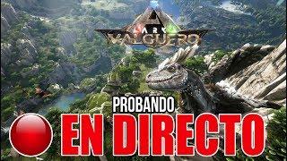 🔴 PROBAMOS NUEVO DLC DE ARK EN DIRECTO | VALGUERO Y DEINONYCHUS!!!