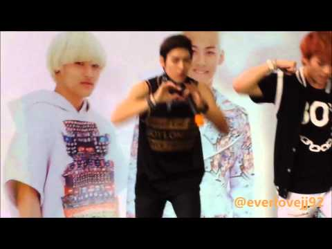 [301113 FANCAM] LC9 'Never Say Never' cover performance at Showcase