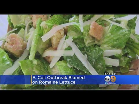 Romaine Lettuce Linked To Multi-State E. Coli Outbreak