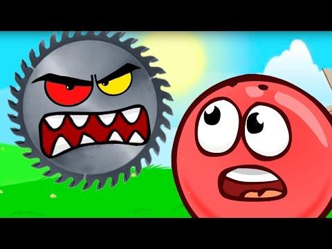 RED BALL 4 💥КРАСНЫЙ ШАР против ЗЛОГО черного КВАДРАТА Мультик Игра Развлекательное видео Для детей