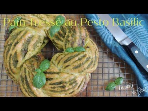 pain-tressé-au-pesto-basilic,-recette-facile-à-faire.