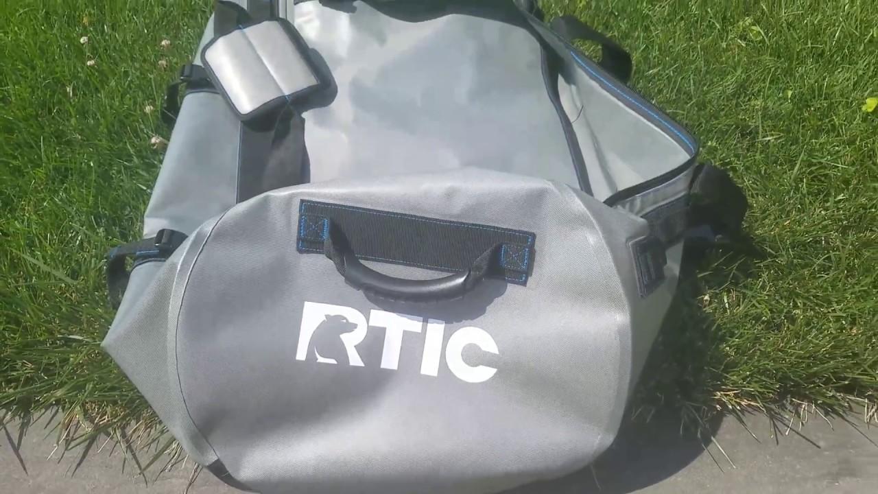 2002db16efde Rtic large duffle bag - YouTube