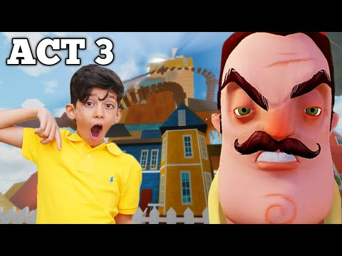 Hello Neighbor ACT with Jason Gaming and Alex |