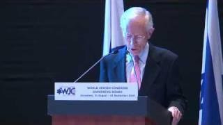 Stanley Fischer at the WJC Governing Board 1/2