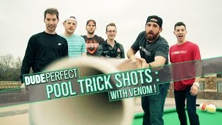 Dude Perfect | The Making Of Pool Trick Shots thumbnail