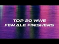 Download Top 20 WWE Female Finishers MP3 song and Music Video