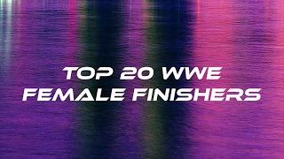Top 20 WWE Female Finishers