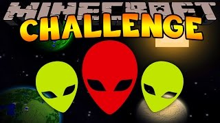 Minecraft Challenge - ALIEN ATTACK [11]