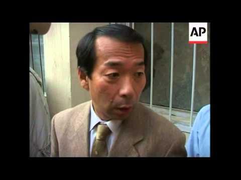 Bodies at hospital, Japanese ambassador reax