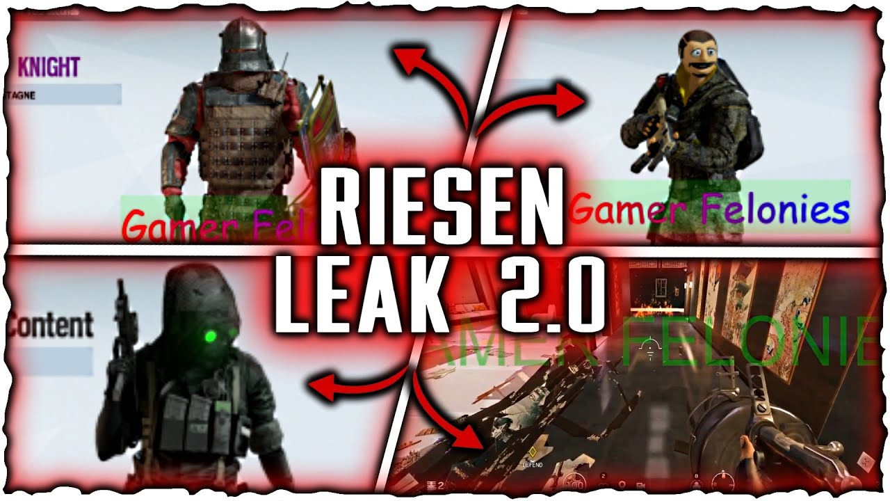 Rainbow Six Siege Halloween 2020 When MASSIVER LEAK 2.0!   Halloween Event 2020   Puppen Event